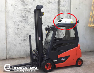 E-Clima1200 small cab air conditioners for forklift