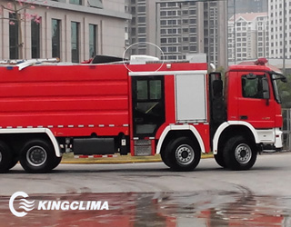 E-Clima2200 sleeper cab air conditioners for special vehicles(fire truck)