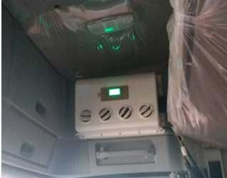 CoolPro2800B Electric Truck AC Installation