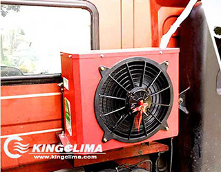 CoolPro2800 electric ac for Truck Cabs