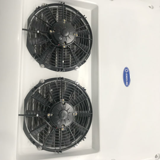 KK-100 air conditioning units for minibuses