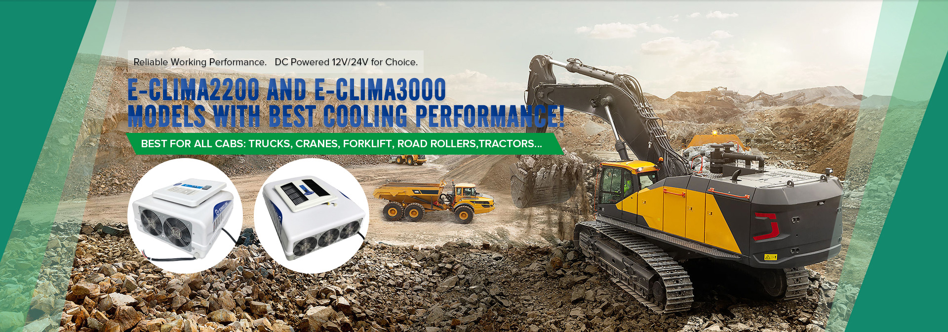 kingclima e-clima series sleeper cab air conditioners