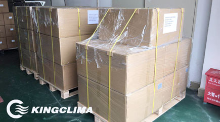 10 sets of E-Clima2200 Truck Sleeper Air Conditioner Export to Romania - KingClima