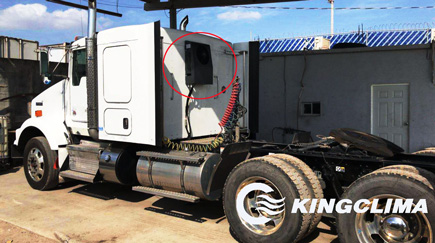 E-Clima2600S Truck Sleeper Air Conditioner Export to Canada and Feedback from Customer