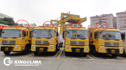 Aftermarket Cooling Solution for Tunnel Washer Trucks - KingClima